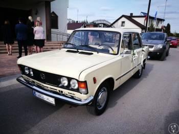 Fiat 125p w orginale od MAG Dekor, Samochód, auto do ślubu, limuzyna Drobin