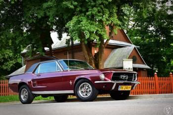 Ford Mustang coupe Sports Sprint z najlepszego rocznika 1967, Samochód, auto do ślubu, limuzyna Dukla