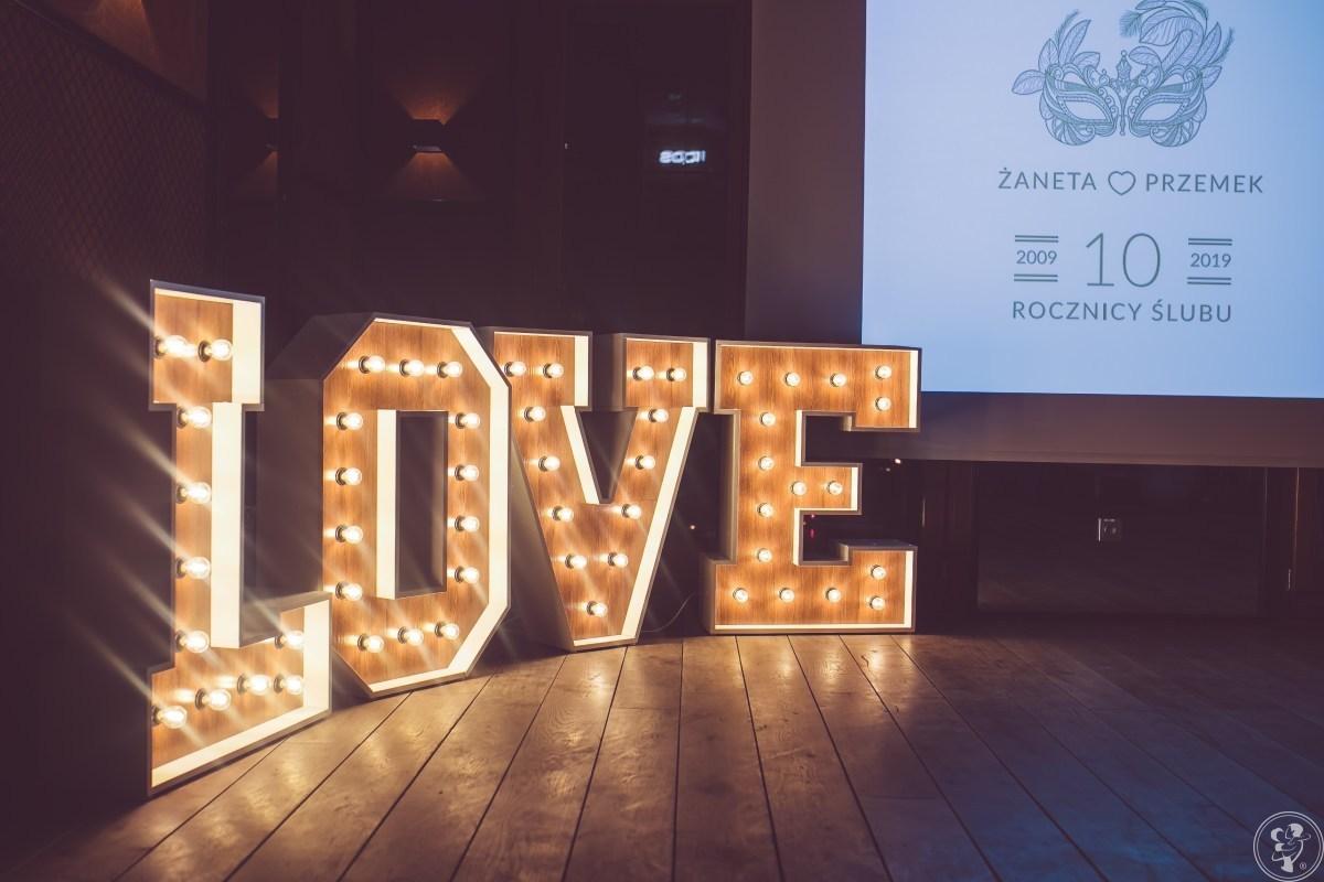 290 zł. Świecący napis LOVE. Fotościanka Drzwi.Zielona ściana TŁO, Kraków - zdjęcie 1