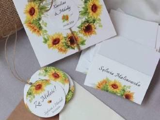 Zaproszenia ślubne, winietki, księgi gości, zawieszki,  Leżajsk