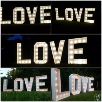 NAPIS LOVE 153 CM, Napis Love Lublin