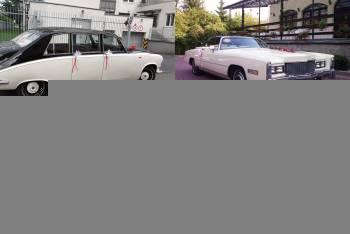 Cadillac Eldorado , Austin Princess, Daimler DS420, Rolls Royce 1933, Samochód, auto do ślubu, limuzyna Karczew