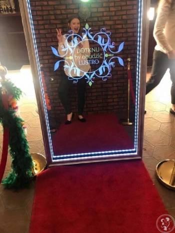 NAJWIĘKSZE Fotolustro w Polsce, aż 65! Rama LED RGB! Selfie Mirror, Fotobudka, videobudka na wesele Zakroczym