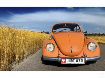 Garbus Clementine Orange do ślubu, Samochód, auto do ślubu, limuzyna Nasielsk