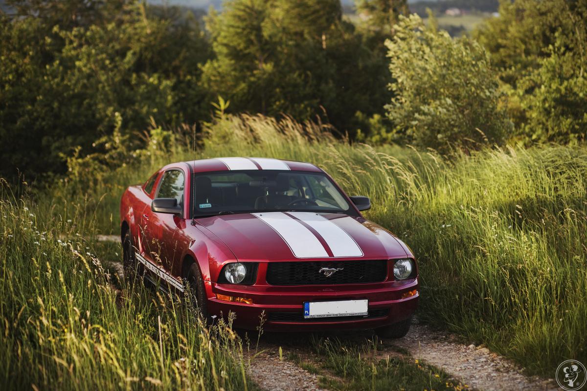 Czerwony Ford Mustang, Gorlice - zdjęcie 1