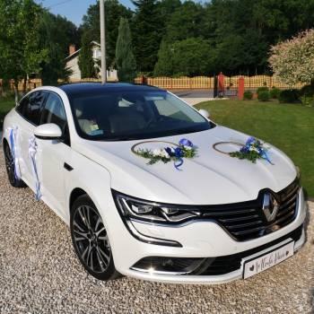 Piękny Talisman biała perła auto do ślubu, Samochód, auto do ślubu, limuzyna Dukla