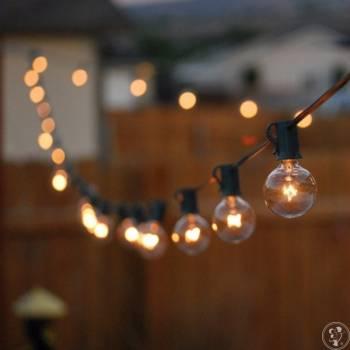 Wynajem sznurów świetlnych, girland LED., Dekoracje światłem Gorlice