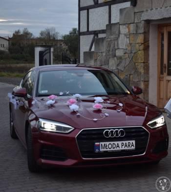 Auto do ślubu AUDI A5, Samochód, auto do ślubu, limuzyna Bolków
