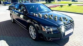 Wersja prezydencka AUDI A8/S8 4.2 Long 380KM 600zł, Samochód, auto do ślubu, limuzyna Dąbrowa Białostocka