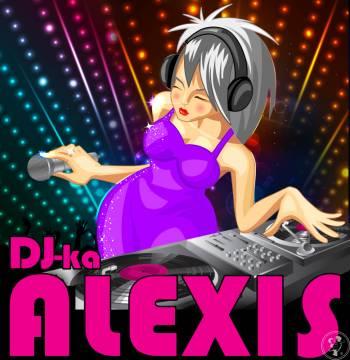 Dj-ka ALEXIS - Śpiewająca kobieta za konsolą - sprawdzone na weselach, DJ na wesele Gryfów Śląski