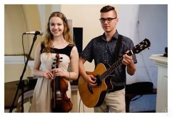 Oprawa muzyczna ślubu w kościele; skrzypce, gitara, śpiew, organy, Oprawa muzyczna ślubu Lublin