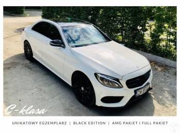 Mercedes C-klasa Pakiet AMG black edition Przeczytaj Opis, Samochód, auto do ślubu, limuzyna Polkowice