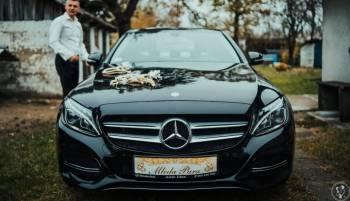 Mercedes klasa C, Samochód, auto do ślubu, limuzyna Mońki
