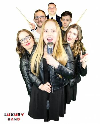 Luxury Band - zespół na wesele., Zespoły weselne Golub-Dobrzyń