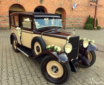 Klasyk do ślubu.Retro unikat., Samochód, auto do ślubu, limuzyna Gostycyn