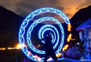 Pokaz ognia FIREshow/ Pokaz światła LEDshow/ Efekty FX/ Lasery/ Dymy, Teatr ognia Strzelce Krajeńskie