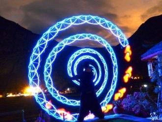 Pokaz ognia FIREshow/ Pokaz światła LEDshow/ Efekty FX/ Lasery/ Dymy, Teatr ognia Zielona Góra