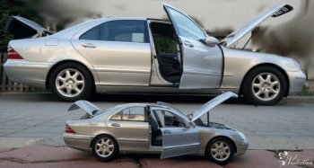 SAMOCHÓD DO ŚLUBU MERCEDES Klasa S AUTO LIMUZYNA WEDDING CAR, Samochód, auto do ślubu, limuzyna Łosice