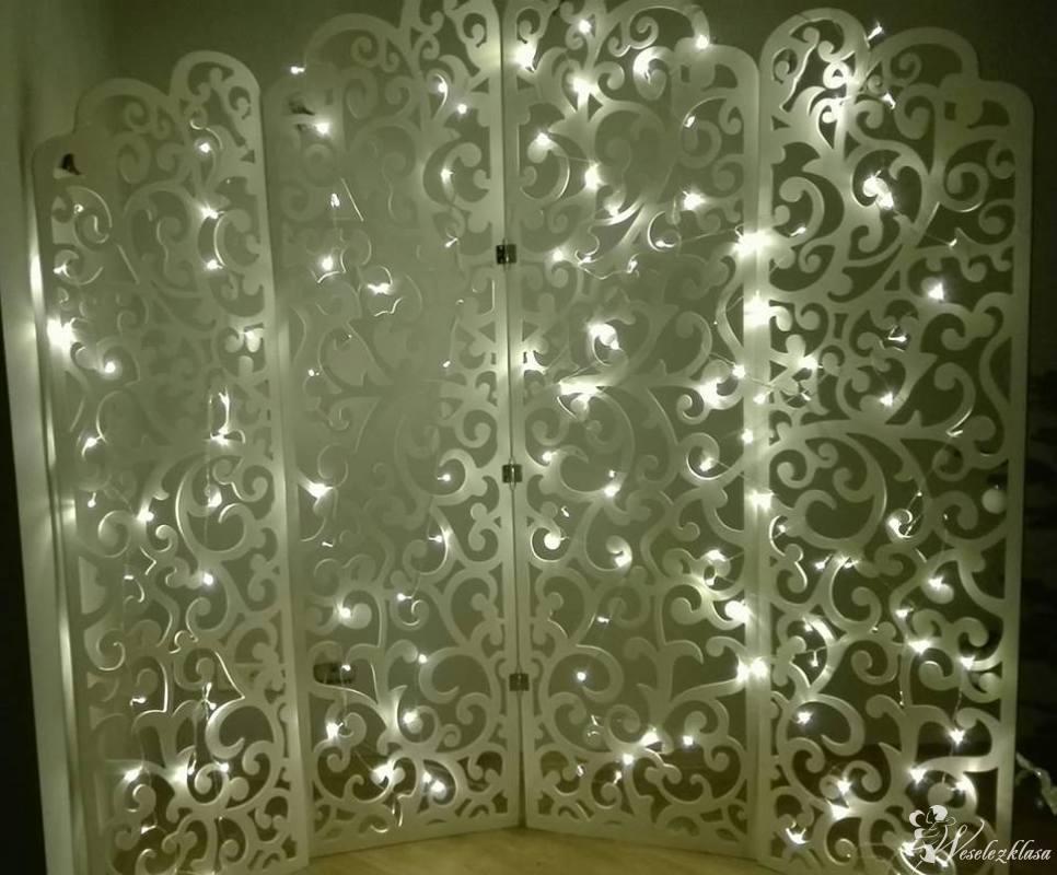 Ścianka ślubna, Dobczyce - zdjęcie 1
