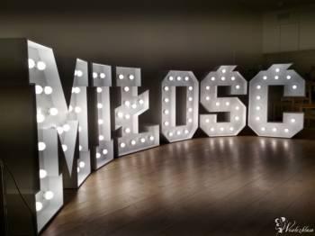 Napisy LED, Podtalerze, Pokrowce na krzesła, HEL !!! Hit 2019 !!!, Dekoracje ślubne Ożarów Mazowiecki
