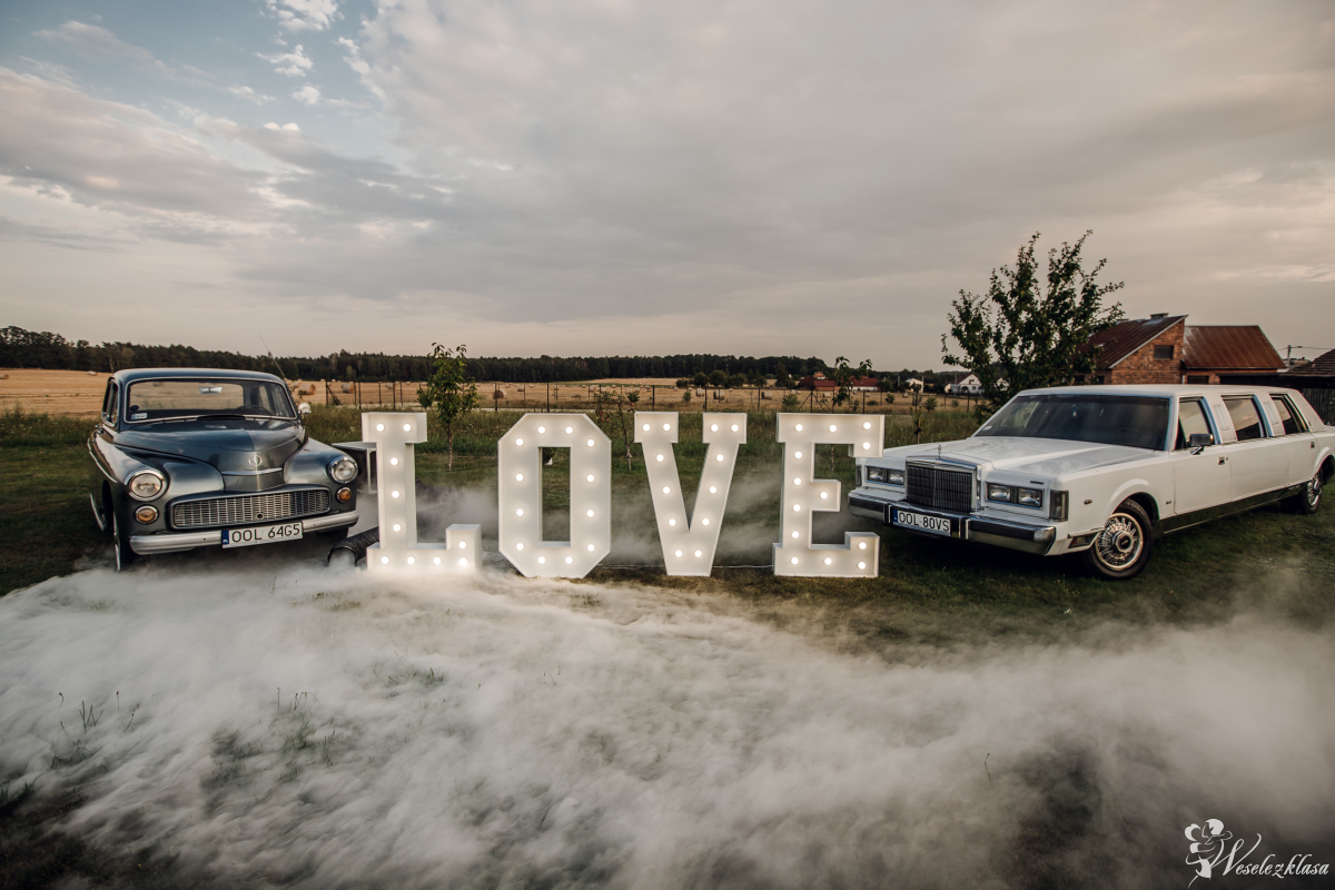 Limuzyna Lincoln Warszawa 203 Porsche | Napis LOVE | Ciężki DYM!, Dobrodzień - zdjęcie 1