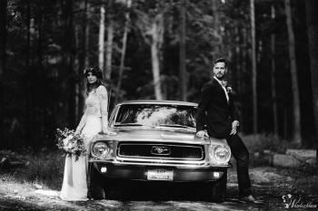Mustangiem do ślubu ! Prowadź sam ! Ford Mustang 1968, Samochód, auto do ślubu, limuzyna Skała