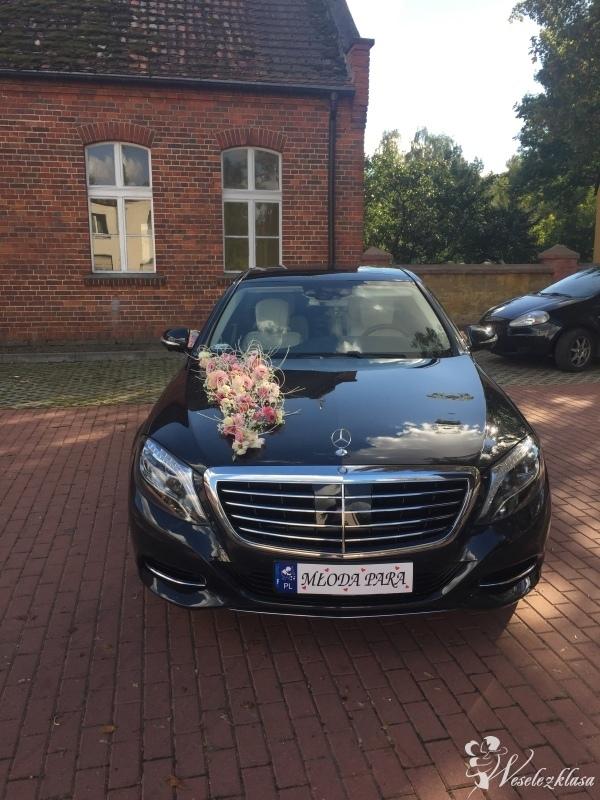 Mercedes S klasa do ślubu, Kalisz - zdjęcie 1