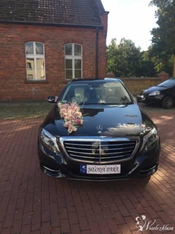 Mercedes S klasa do ślubu, Samochód, auto do ślubu, limuzyna Sulmierzyce