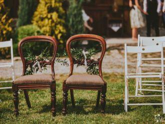 krzesła do ślubu, złote podtalerze, dodatki,  Bielsko-Biała