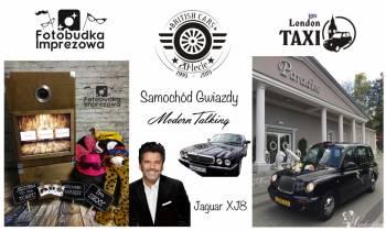 Fotobudka Imprezowa & London Taxi Auto do Ślubu, Fotobudka, videobudka na wesele Knurów