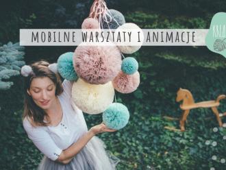 Mobilne Warsztaty okolicznościowe/ Animacje dla dzieci,  Poznań