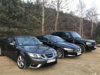 PROMOCJA! Jaguar XF&  Range Rover & Saab Cabrio,  Olkusz