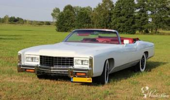 Kabriolet Cadillac Eldorado, Samochód, auto do ślubu, limuzyna Siemiatycze