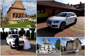 Samochód / auto do ślubu / Biale Audi , Samochód, auto do ślubu, limuzyna Daleszyce