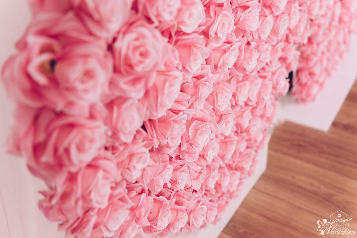 Napis kwiatowy, Olsztyn - zdjęcie 1