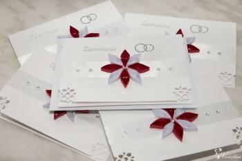 Zaproszenia ślubne ręcznie robione - wyjątkowe, dużo wzorów do wyboru, Zaproszenia ślubne Bielsko-Biała