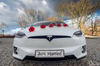 Elektryczna Tesla X- wyjątkowe auto do ślubu, Samochód, auto do ślubu, limuzyna Gostynin