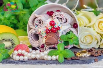 Lody Tajskie zROLLSowani, FOTOLUSTRO- najciekawsza atrakcja na wesele, Słodki kącik na weselu Piotrków Kujawski