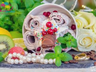 Lody Tajskie zROLLSowani, FOTOLUSTRO- najciekawsza atrakcja na wesele, Słodki kącik na weselu Włocławek