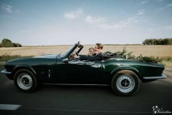 Piękny zabytkowy kabriolet Triumph Spitfire - prowadzisz sam :) ., Samochód, auto do ślubu, limuzyna Golina