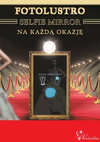 Fotobudka - Fotolustro - Selfie mirror &  BARMIX Automatyczny barman., Fotobudka, videobudka na wesele Józefów Lubelskie