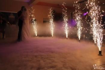dj/wodzirej/laser show,napisy LED,pirotechnika sceniczna,konfetti,CO2, DJ na wesele Żary