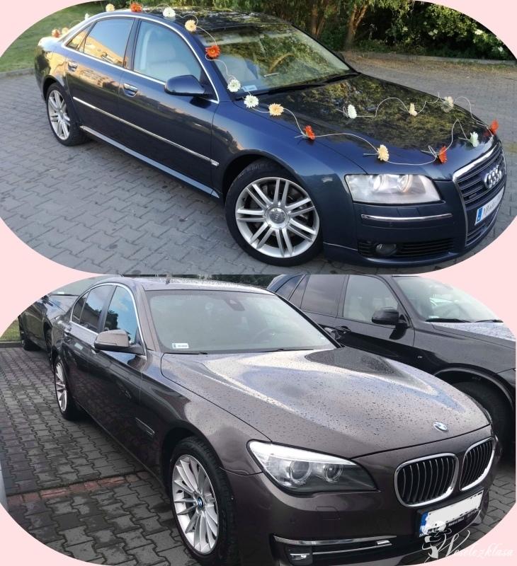 Auto do ślubu Audi A8 BMW 7, Sandomierz - zdjęcie 1