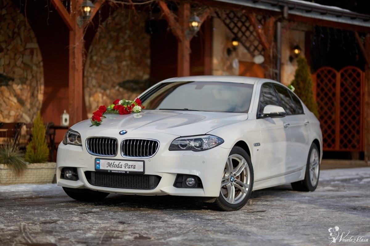 Ślubne BMW - Luksusowy samochód do Ślubu BMW 5, Czeladź - zdjęcie 1