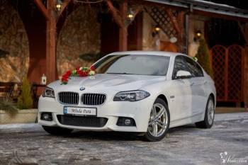 Ślubne BMW - Luksusowy samochód do Ślubu BMW 5, Samochód, auto do ślubu, limuzyna Czeladź