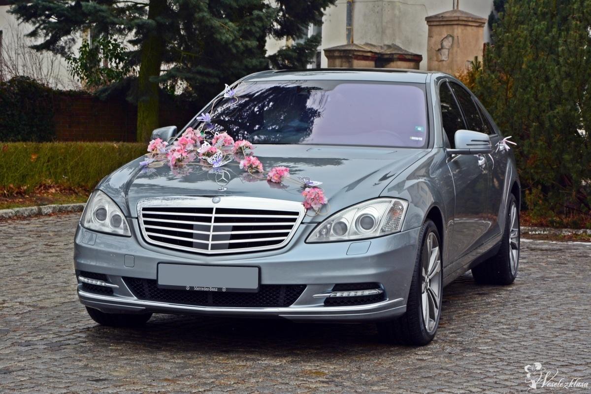 Mercedesem do ŚLUBU ( S klassa 5.5L V8 z Najbogatszym Wyposażeniem ), Złotów - zdjęcie 1