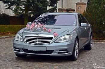 Mercedesem do ŚLUBU ( S klassa 5.5L V8 z Najbogatszym Wyposażeniem ), Samochód, auto do ślubu, limuzyna Wągrowiec