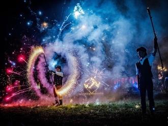 Zaczarowane pokazy ognia/taniec z ogniem/fireshow Teatr Ognia Infernal, Teatr ognia Jelenia Góra