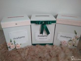 Pudełko na koperty, pudełka, pudełka personalizowane,  Nisko