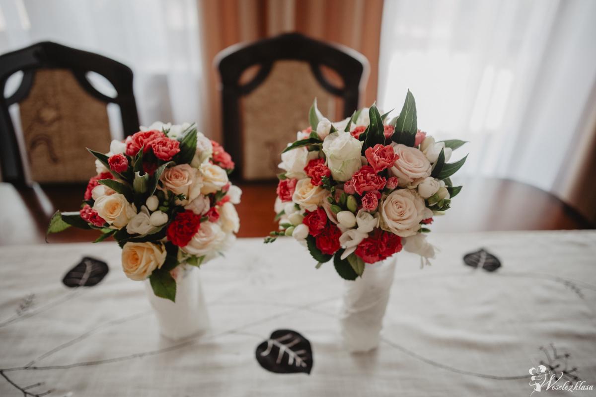 Bukiety ślubne, wiązanki, butonierki,, Nisko - zdjęcie 1